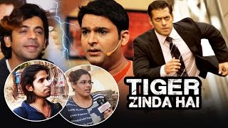 Public Angry On Kapil Sharma - Supports Sunil Grover, Salman's Tiger Zinda Hai Stunt Goes Viral