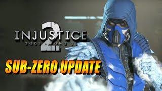 SUB ZERO UPDATE! Release Date, Gear Speculation & More (INJUSTICE 2)