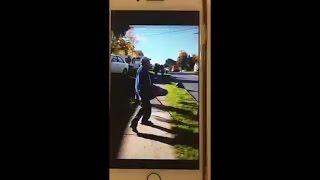 Warning: Graphic video shows teenage girls assaulting Syracuse NY man
