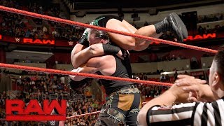 Braun Strowman vs. Rhyno: Raw, Jan. 1, 2018
