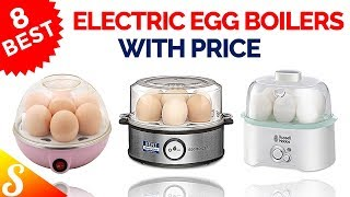 8 Best Electric Egg Cookers / Egg Boilers in India with Price
