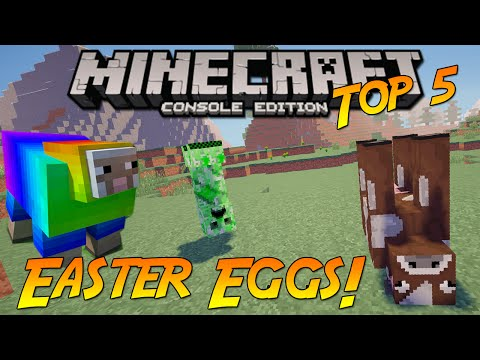 Minecraft Xbox One/PS4: Top 5 Amazing Easter Eggs!