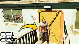 ¿Que Pasa Si Entramos A la Casa de Floyd Y Debra Despues de Pelear Con Trevor? GTA 5