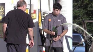 Fake Gas Station Employee Prank!