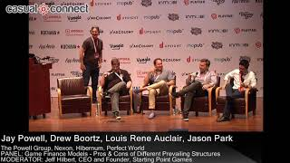 PANEL: Game Finance Models – Pros & Cons of Different Prevailing Structures | PANEL