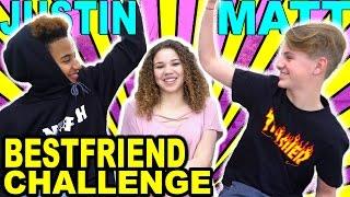 Best Friend Challenge! (MattyBRaps & Justin ft Madison Haschak)
