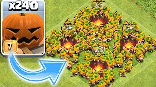 NEW PUMPKIN TROOP!! | Clash of clans | HALLOWEEN TROLL ATTACK!!