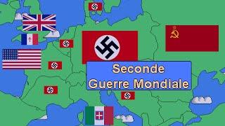La Seconde Guerre Mondiale résumée en quelques minutes.
