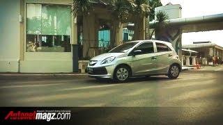 Honda Brio review & test drive Indonesia (Honda Brio Satya brother)