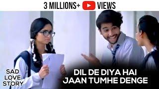 Dil De Diya Hai Jaan Tumhe Denge - Video Song   Unplugged Cover By Rahul Jain   Sad Love Story