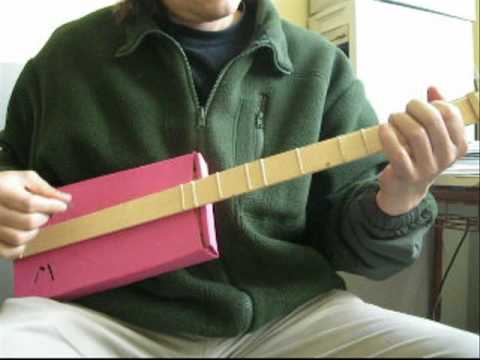 Guitarra de dos cuerdas
