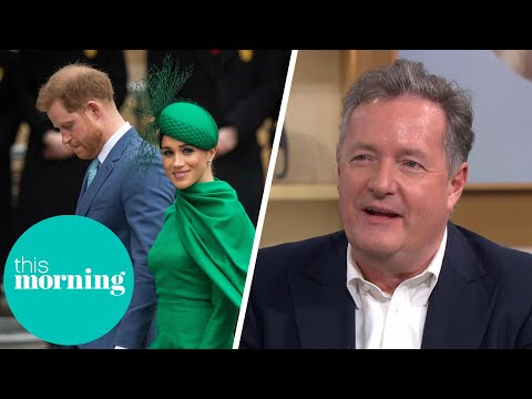 Piers Morgan I have no sympathy for Harry and Meghan This Morning