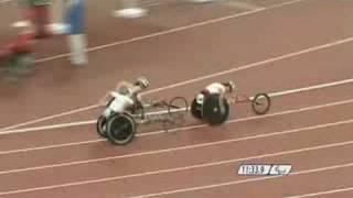 Contraversial Wheelchair Crash