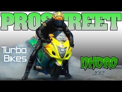NHDRO 1 ProStreet motorcycle drag racing Finals Muncie 5 20 12