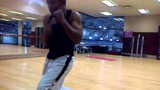 Ethiopian Taekwondo basic kick (habtie TKD Debre Markos)