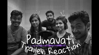 Padmavati  Official Trailer  1st December  Ranveer Singh  Shahid Kapoor  Deepika Padukone/ Reaction/