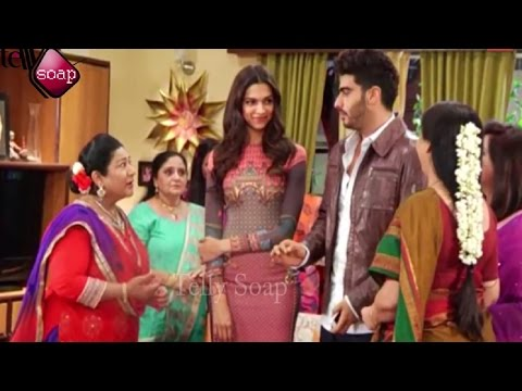 Xxx Mp4 Deepika And Arjun Promote Finding Fanny On The Sets Of Yeh Hai Mohabbatein 3gp Sex