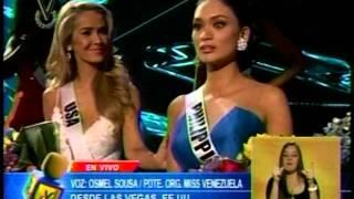 Osmel Sousa habla de lo ocurrido en el Miss Universo 2015
