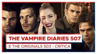 The Vampire Diaries (7ª temporada) e The Originals (3ª temporada)