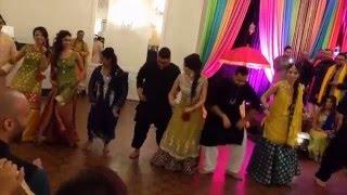 Faraz and Gia Mehndi Dance (Guys Side) 2016