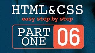 #6 تعلم HTML و CSS خطوة بخطوة  - تداخل Div و تداخل الوسوم Tags
