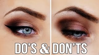 Eyeshadow DO's & DONT's