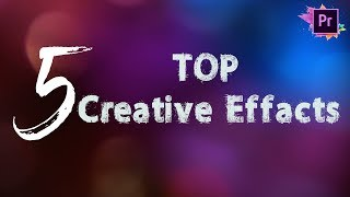 5 Creative Effects For Premiere Pro CC    Transition    Free download