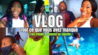 DE RETOUR ! : JE RATE UN PRANK , SCEANCE PHOTO REPORTER , RILAY S'HABITUE À LA PISCINE !!