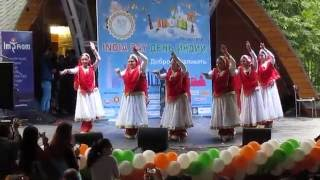 Kathak performance by Chakkar group Russia