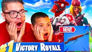 *NEW* SKINS ARE INSANE! BEST FORTNITE UPDATE EVER!! *NEW* INFANTRY RIFLE GAMEPLAY! FORTNITE DUOS!