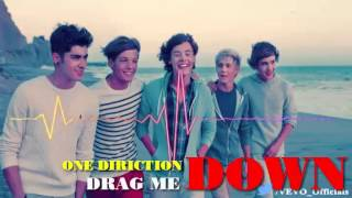 One Direction Drag Me Down Audio