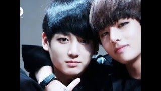 BTS ...V y Jungkook moments love