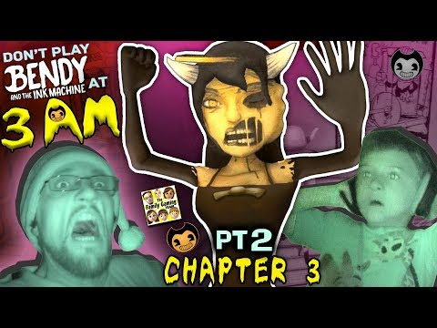 Xxx Mp4 DON T PLAY BENDY THE INK MACHINE 3AM CHAPTER 3 Alice Angel Is SCARY FGTEEV Haunted House Pt2 3gp Sex