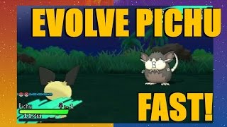 sun and moon how to get ash pikachu