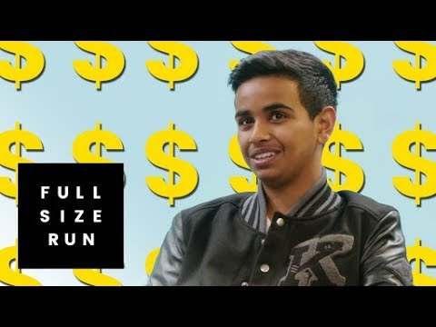Who is Money Kicks Dubai s Billionaire Teenager Taking Over Sneaker YouTube Full Size Run