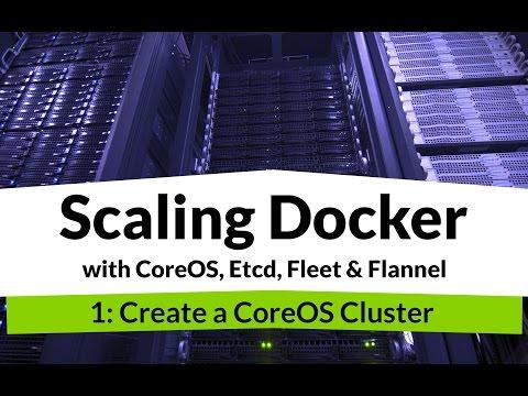 Scaling Docker #1 - High Availability Docker DevOps with CoreOS, Etcd, Fleet, Flannel & Nginx