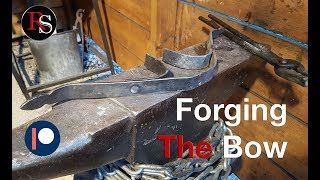 How To Make A Crossbow - Part II - Forging The Bow