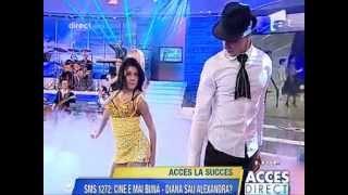 Andreea Banica si Diana - De-ar fi sa vii | live @ Acces Direct