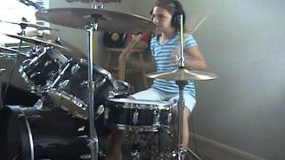 """Seven Mary Three """"Cumbersome"""" a drum cover by Emily"""