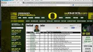 College Recruiting | Using the Athletic Sites To Narrow Your School Search