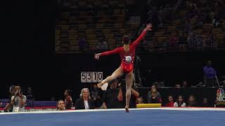 Morgan Hurd – Floor Exercise – 2018 U.S. Gymnastics Championships – Senior Women Day 1