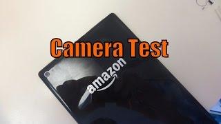 Amazon Fire HD 8 | Camera Test