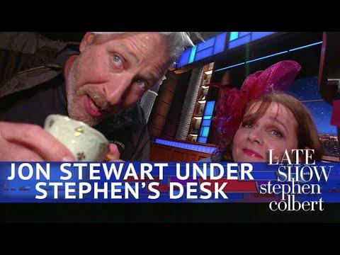 Xxx Mp4 Jon Stewart Live From Below Stephen S Desk 3gp Sex