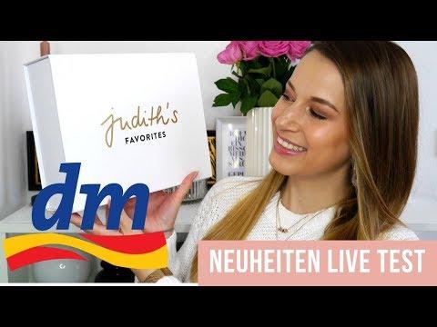 Judith Williams Makeup NEUE MARKE bei dm im LIVE TEST