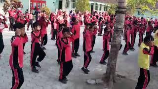 Senam Dancow 10 Tanda Anak Bergizi Baik SD Muh Gamplong 2018