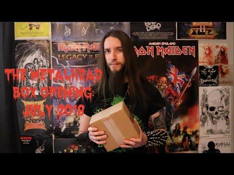 The Metalhead Box Opening: July 2018
