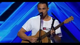 Cyrus Villanueva stage audition for X Factor Australia standing ovation