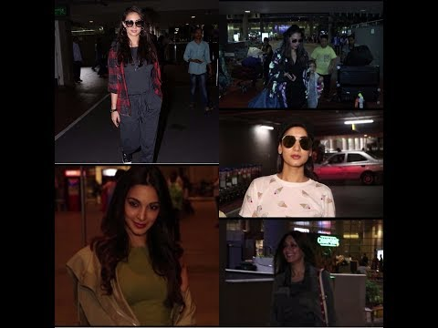 Xxx Mp4 Kajol Sonali Bendre Lara Dutta Kiara Advani Lauren Gottileb Spotted At Airport 3gp Sex