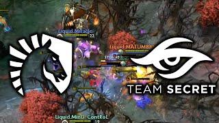 Liquid vs Secret - MIRACLE IS CRAZY The International 2017 Main Event Dota 2 [Game 2 bo3]
