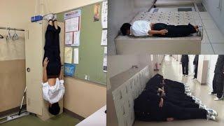 Kelakuan pelajar jepang yang bikin ngakak / japanese naughty student